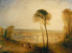 Landscape with Walton Bridges c.1845