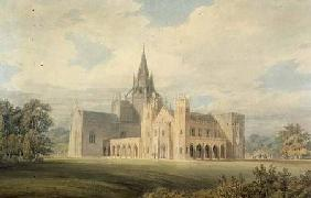 Perspective View of Fonthill Abbey from the South West c.1799  &