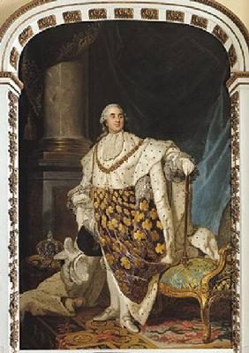 Louis XVI (1754-93) in Coronation Robes after 1774