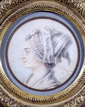 Portrait of a woman, said to be Constanze, Mozart's wife 1787
