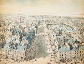 North View from Scott Monument, 2.45 pm 15 September 1845