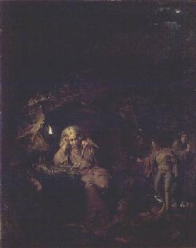 A Philosopher by Lamp Light exh. 1769