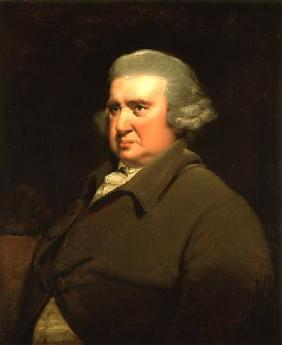 Portrait of Dr Erasmus Darwin (1731-1802) scientist, inventor and poet, grandfather of Charles Darwi c.1770