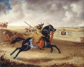 Skinner's Horse at Exercise, c.1840 (oil on canvas) 16th