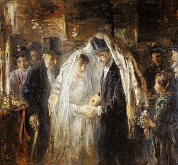 Juedische Hochzeit Israels