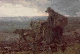 On Country Roads and Fields 1892