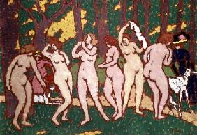 Nudes in a Park 1910