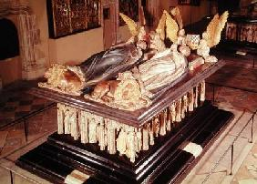 Tomb of John the Fearless (1371-1419) and Margaret of Bavaria (1376-1434) Duke and Duchess of Burgun 1444-70