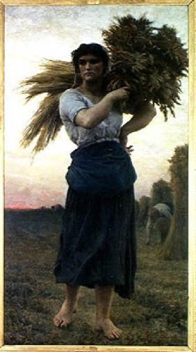 Kunstdruck von Jules Breton - The Gleaner