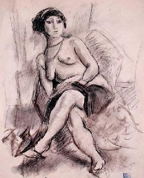 Seated Nude Model c.1925-26