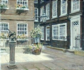 Pickering Place, St. James''s (oil on canvas)