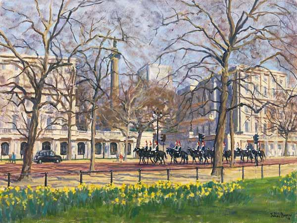 Spring Morning, The Mall