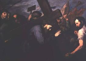 Christ Carrying the Cross 1635