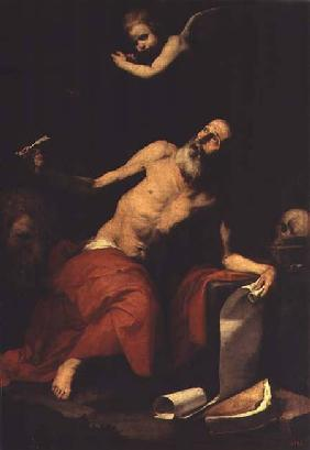 St. Jerome Hears the Last Trumpet 1626