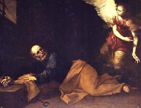 St. Peter Freed by an Angel 1639