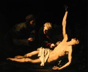 Saint Sebastian Attended by Saint Irene 1628