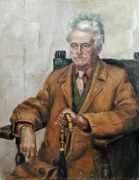 Mr Corbett (oil on canvas)