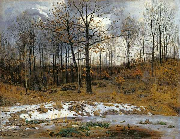 Last Snow at Weimar 1889