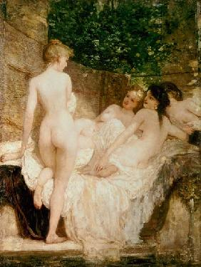 After the Bath c.1880
