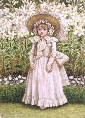 Child in a White Dress c.1880  on