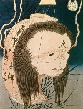 Kunstdruck von Katsushika Hokusai - Japanese Ghost
