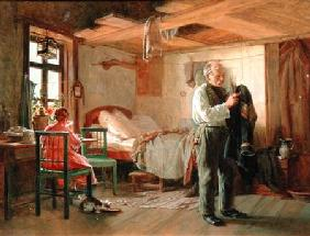 Morning in a Porter's Lodge 1874