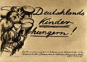 Deutschlands Kinder hungern 1924-01-01