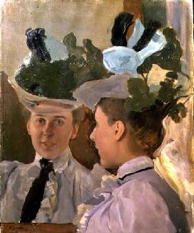 Lady at the Mirror 1898