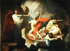 Charon Conveying the Souls of the Dead across the Styx 1860