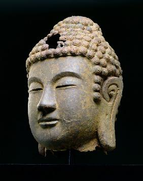 Head of Buddha, Korean, late 8th, early 9th century AD