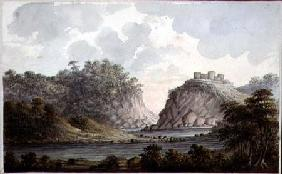 Landscape with a Ruined Castle c.1825  on