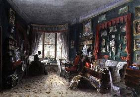 Our Sitting Room in London 1849  on