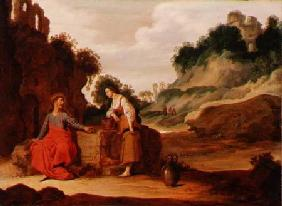 Christ and the woman of Samaria 1635