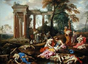 The Death of the Children of Bethel 1653