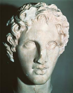 Head of Alexander the Great (356-323 BC)