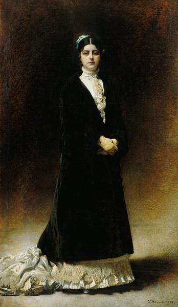 Portrait of Emmanuella Signatelli, Countess Potocka 1880