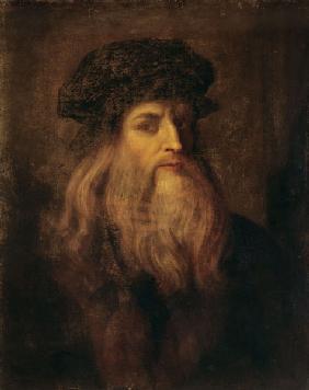 self portrait self portrait von leonardo da vinci - Leonardo Da Vinci Lebenslauf
