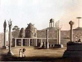A Moorish Mosque at Bangalore, plate 19 from 'Pictorial Scenery in the Kingdom of Mysore' 1804