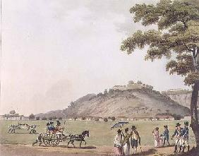 A View of Mount St. Thomas, near Madras, plate 20 from 'Picturesque Scenery in the Kingdom of Mysore 1804