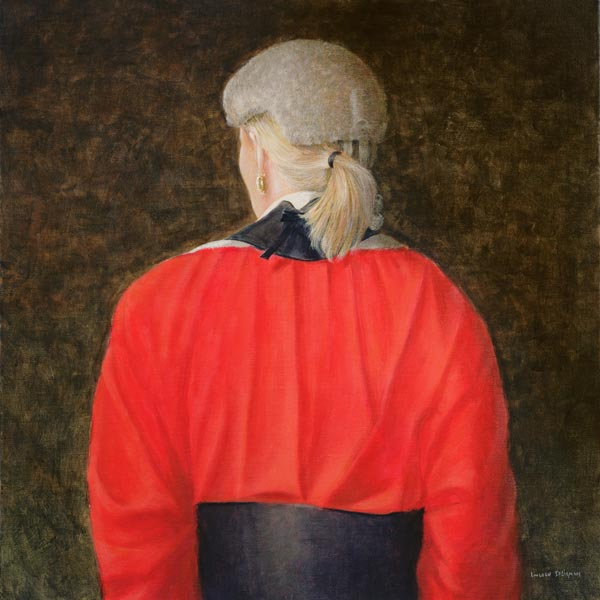 High Court Judge, 2005 (acrylic)