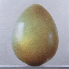 Bronze age Egg (acrylic on canvas)