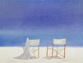Chairs on the beach 1995