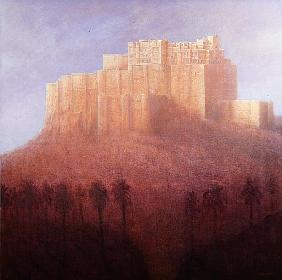 Jodhpur Fort (oil on canvas)