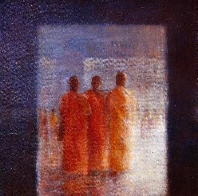Meeting Place, Hanoi (oil on canvas)