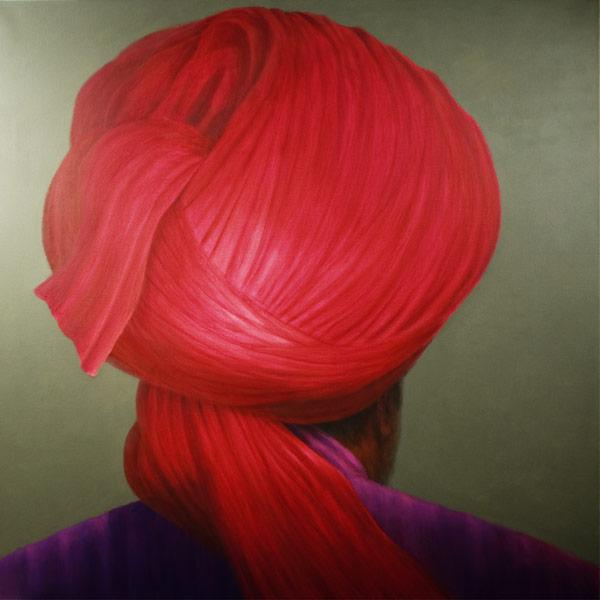 Red Turban, Purple Coat