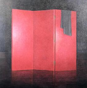 Red Screen, 2005 (acrylic on canvas)