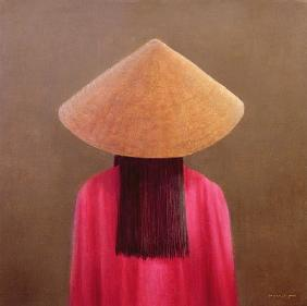 Small Vietnam, back view (oil on canvas)