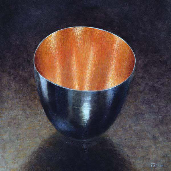 Steel Bowl, 2005 (acrylic)