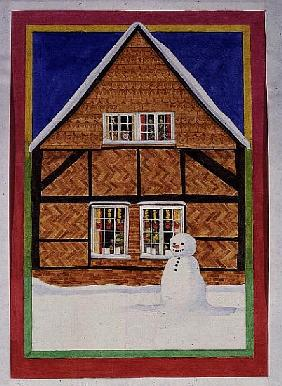 Snowman and Haybourne House