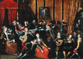 The Spanish Concert or, The Gallant Rest